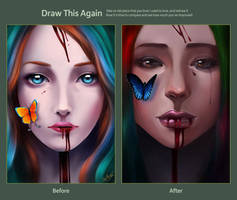 Draw This Again: Dying Beauty by BoFeng