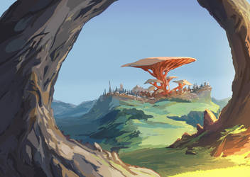 Mushroom King by LdeSouza
