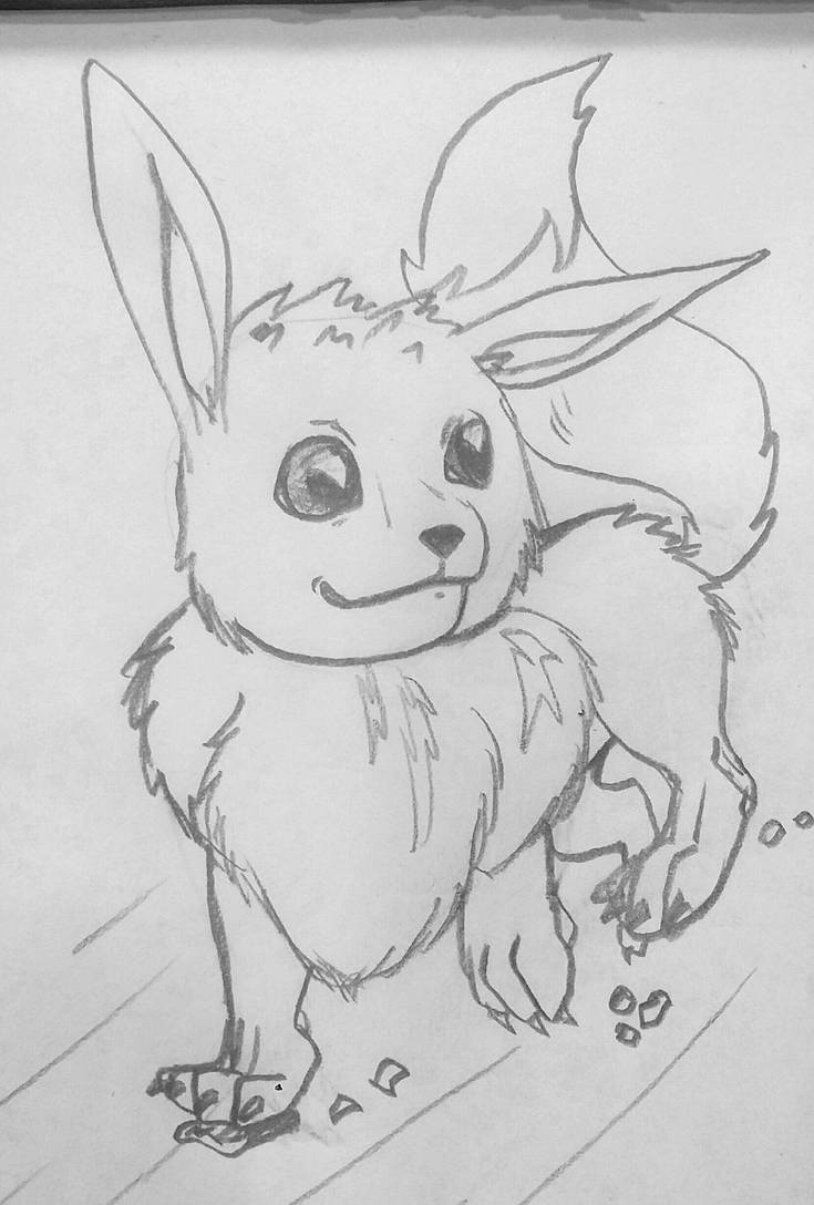 Eevee (Gen 1 Art Redesign) by Agentwolfman626