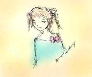 Girl by romancecilia