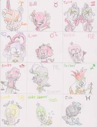 SMRPG: Smithy Gang Zodiac by ZootyCutie