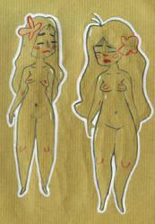 Vahines concept sketch series. by CeliaPanda