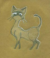 Une vie de chien - Cat 02 by CeliaPanda