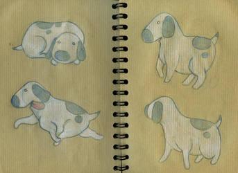 Une vie de chien - Dog 01 by CeliaPanda