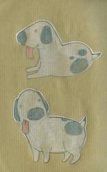 Une vie de chien - Dog 02 by CeliaPanda