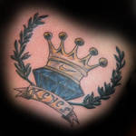 Crown Diamond Tattoo By Twofacedtattoo On Deviantart