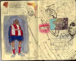 untitled Moleskine page by jppeer
