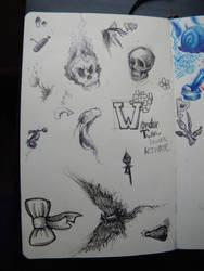 More Doodles by Kittifizz