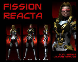 Fission Reacta - Human form by Fusi-Reacta