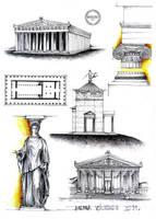 Greek Architecture by dedeyutza