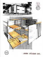 House by Arh. Radu Teaca by dedeyutza
