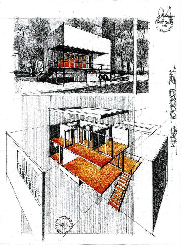 House by Arh. Horia Creanga by dedeyutza