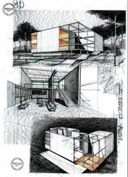 House by ArhHaralamb Georgescu by dedeyutza