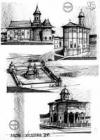 Churches Monasteries Romania by dedeyutza