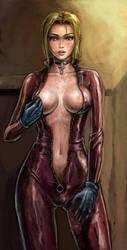Nina Williams from Tekken 4 by Silidiunim