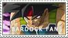 Bardock Fan Stamp by RageWR