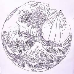 Waves by JosefArts