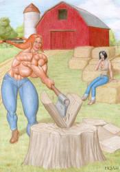Farm Girl 1 by hqadd