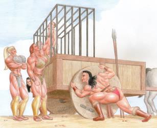 Amazons Ambushed 1 by hqadd