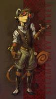 Steampunky Monky by GatoDelCielo