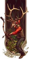 Big Game Huntsman RED by Syncrasis