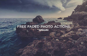 Free Faded Retro Photo Actions by TheUltraLinx