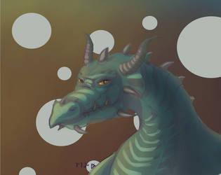 Dragon by bjoern9002