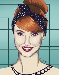 Rockabilly Redhead by bjoern9002