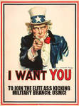 USMC poster by Malficeus