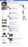 Castiel's Facebook Page by kiles85