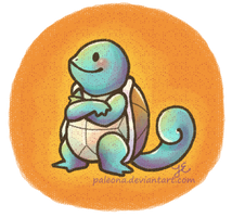 Squirtle 007 by Paleona