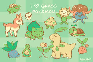 I Love Grass PKMN by Paleona