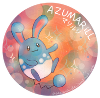Azumarill by Paleona