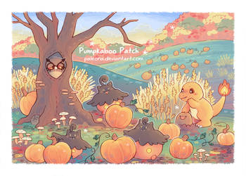 Pumpkaboo Patch by Paleona