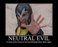 Neutral Evil Magneto by 4thehorde