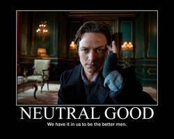Neutral Good Charles Xavier by 4thehorde