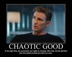 Chaotic Good Steve Rogers by 4thehorde