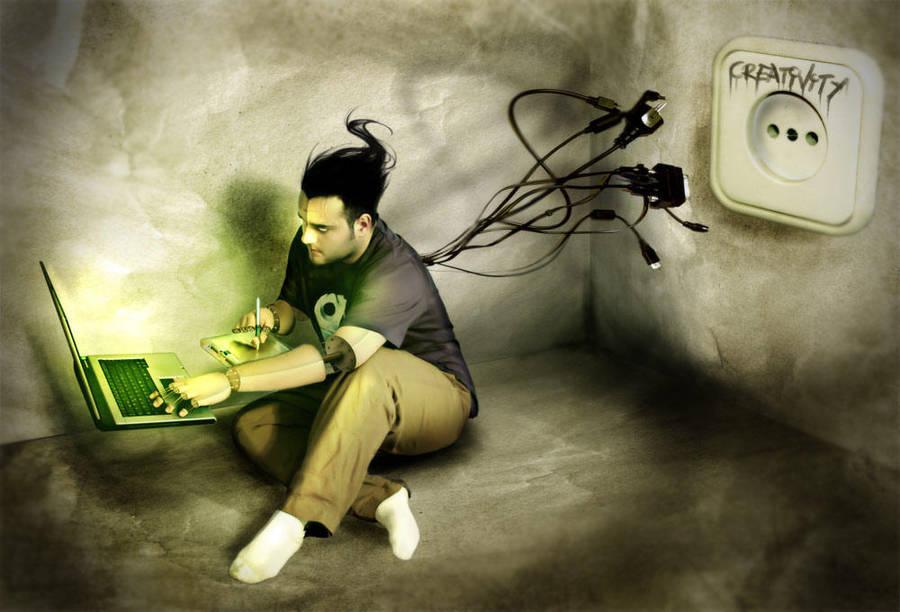 creativity by gerbenher