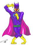 Batman Anime by ComicsNix