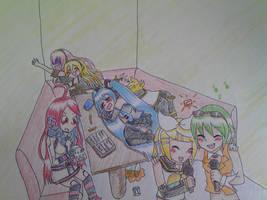 Gumi and Rin's Turn by ikesamusmarthpeach