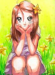Daffodil Contemplations by ArtsyCantabile