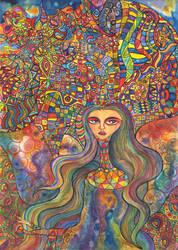 La Diosa de Arcoiris by tZAKOL