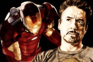 Tony Stark by MrMasenko