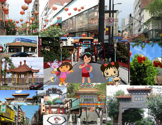 Chinatowns in Latin America by Kottylingual
