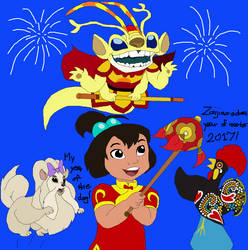 Happy Chinese New Year this month by Kottylingual