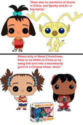 Sparky and Ai pops 2 grls and Stitch pops by Kottylingual