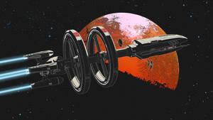Space journey by Farsirius