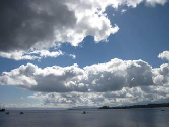 Bright Clouds by Umi-Tatsuky
