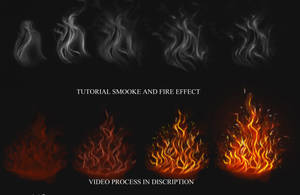 Tutorial Smoke and Fire effect by IndyMBra