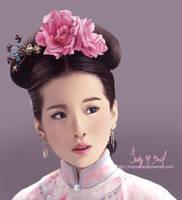 Ruo Xi Portrait by IndyMBra